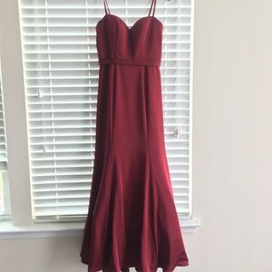 Dresses & Skirts - mermaid prom dress with sweetheart neckline